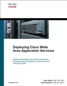 Deploying Cisco Wide Area Application Services (Hardcover)-cover