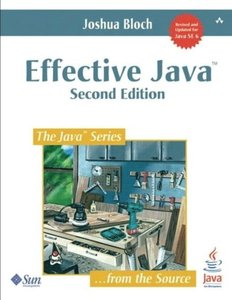 Effective Java, 2/e (Paperback)-cover