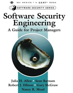 Software Security Engineering: A Guide for Project Managers (Paperback)-cover