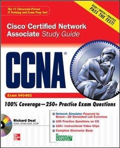 CCNA Cisco Certified Network Associate Study Guide (Exam 640-802), 3/e-cover