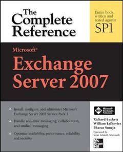 Microsoft Exchange Server 2007: The Complete Reference, 2/e-cover