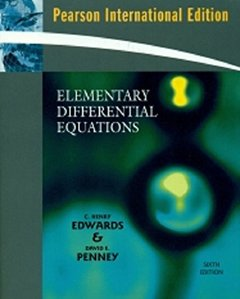 Elementary Differential Equations, 6/e (IE-Paperback)-cover