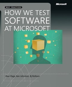 How We Test Software at Microsoft (Paperback)-cover