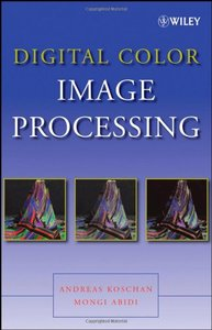 Digital Color Image Processing (Hardcover)-cover