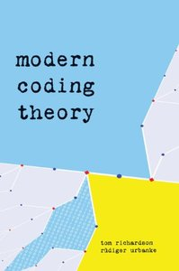 Modern Coding Theory (Hardcover)-cover