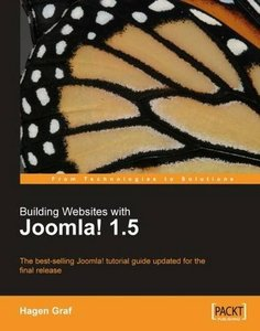 Building Websites with Joomla! 1.5 (Paperback)-cover