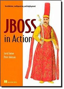 JBoss in Action: Configuring the JBoss Application Server-cover