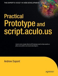 Practical Prototype and script.aculo.us-cover