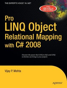 Pro LINQ Object Relational Mapping in C# 2008-cover