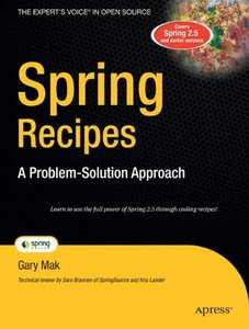 Spring Recipes: A Problem-Solution Approach-cover