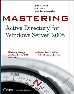 Mastering Active Directory for Windows Server 2008 (Paperback)-cover