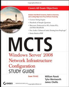 MCTS: Windows Server 2008 Network Infrastructure Configuration (Exam 70-642) (Paperback)-cover