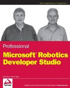 Professional Microsoft Robotics Developer Studio-cover