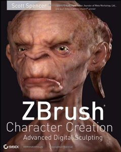 ZBrush Character Creation: Advanced Digital Sculpting-cover