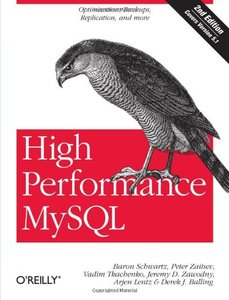 High Performance MySQL: Optimization, Backups, Replication, and More, 2/e-cover