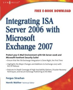 Integrating ISA Server 2006 with Microsoft Exchange 2007 (Paperback)-cover
