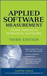 Applied Software Measurement, 3/e-cover