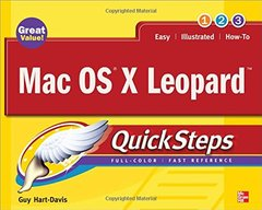 Mac OS X Leopard QuickSteps (Paperback)-cover
