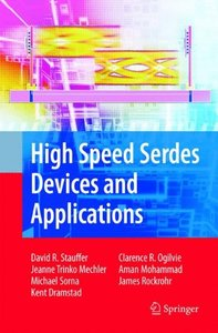 High Speed Serdes Devices and Applications (Hardcover)-cover