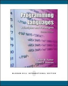 Programming Languages: Principles and Paradigms, 2/e (Paperback)-cover