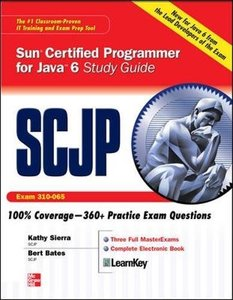 SCJP Sun Certified Programmer for Java 6 Exam 310-065 (Hardcover)-cover