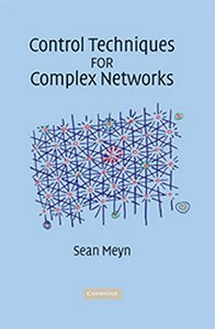 Control Techniques for Complex Networks-cover
