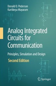 Analog Integrated Circuits for Communication: Principles, Simulation and Design, 2/e (Hardcover)-cover