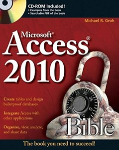 Access 2010 Bible (Paperback)-cover
