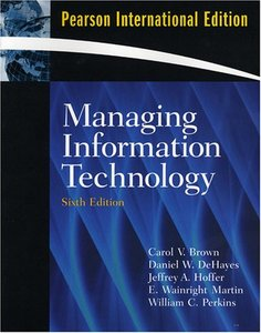 Managing Information Technology, 6/e(美國版ISBN: 0131789546)-cover