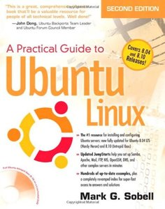 A Practical Guide to Ubuntu Linux (Versions 8.10 and 8.04), 2/e (Paperback)-cover