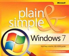 Windows 7 Plain & Simple (Paperback)-cover