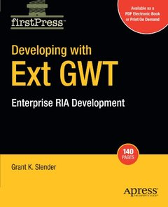 Developing with Ext GWT: Enterprise RIA Development-cover