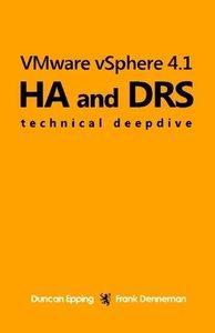 VMware vSphere 4.1 HA and DRS Technical deepdive (Volume 1) [Paperback]-cover