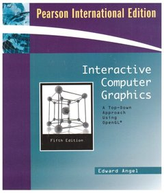 Interactive Computer Graphics: A Top-Down Approach Using OpenGL, 5/e(美國版ISBN: 0321535863)-cover