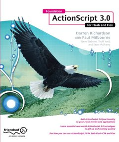 Foundation ActionScript 3.0 for Flash and Flex (Paperback)-cover