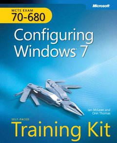 MCTS Self-Paced Training Kit (Exam 70-680): Configuring Windows 7 (Hardcover)-cover