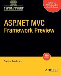 ASP.NET MVC Framework Preview (Paperback)-cover