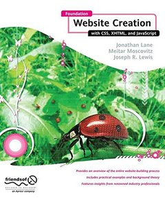 Foundation Website Creation with CSS, XHTML, and JavaScript-cover