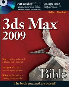 3ds Max 2009 Bible (Paperback)-cover