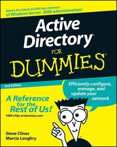 Active Directory For Dummies, 2/e (Paperback)-cover