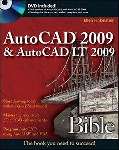 AutoCAD 2009 & AutoCAD LT 2009 Bible (Paperback)-cover