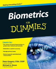 Biometrics For Dummies-cover