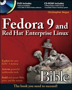 Fedora 9 and Red Hat Enterprise Linux Bible (Paperback)-cover