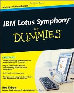 IBM Lotus Symphony For Dummies-cover