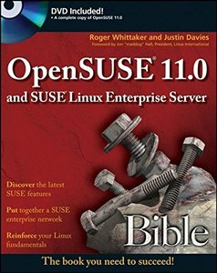OpenSUSE 11.0 and SUSE Linux Enterprise Server Bible (Paperback)-cover