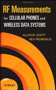 RF Measurements for Cellular Phones and Wireless Data Systems (Hardcover)-cover