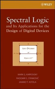Spectral Logic and Its Applications for the Design of Digital Devices (Hardcover)-cover