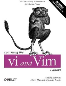 Learning the vi and Vim Editors, 7/e (Paperback)-cover