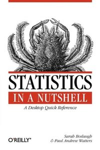 Statistics in a Nutshell: A Desktop Quick Reference (Paperback)-cover