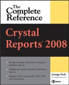 Crystal Reports 2008: The Complete Reference (Paperback)-cover